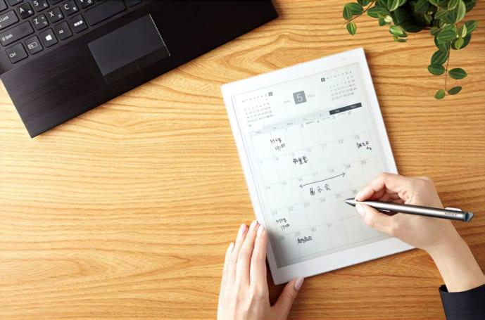 索尼的 10.3 吋 DPT-CP1 电子纸平板在国内推出了