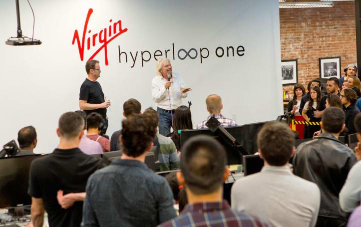 Richard Branson steps down as Virgin Hyperloop One chairman