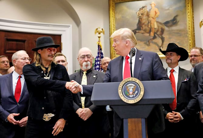 President Trump signs the Music Modernization Act into law