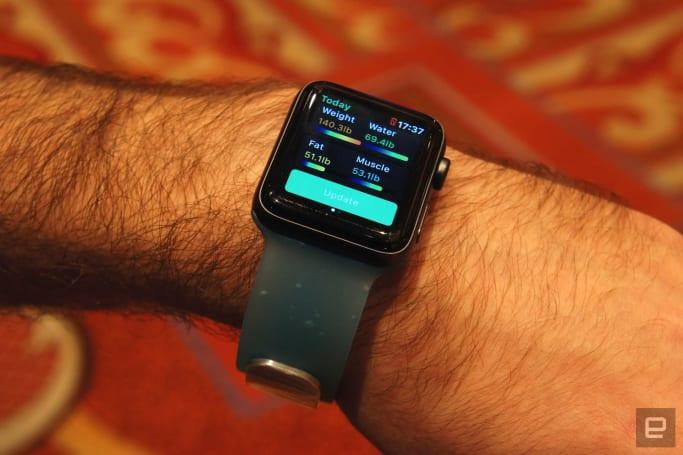 Aura 將旗下的運動手環濃縮成了一條 Apple Watch 錶帶