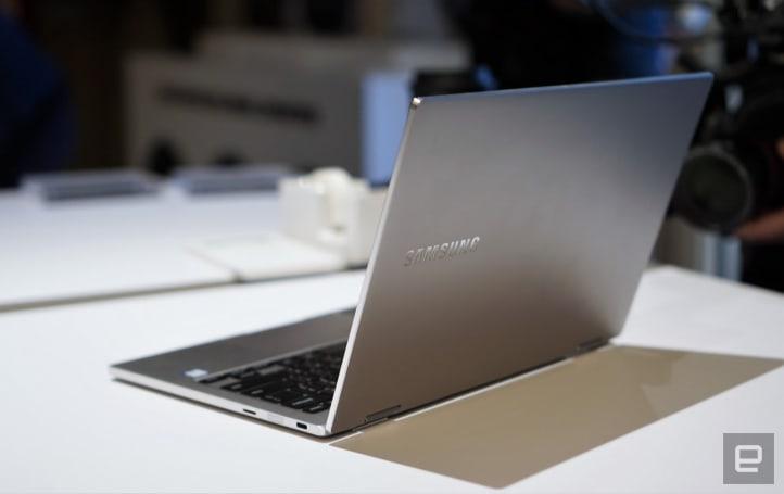 三星的 Notebook 9 Pro 平板笔记本长得相当有型