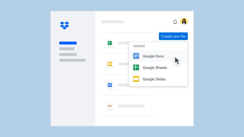 你现在可以直在 Dropbox 里编辑 Google Docs 文件了