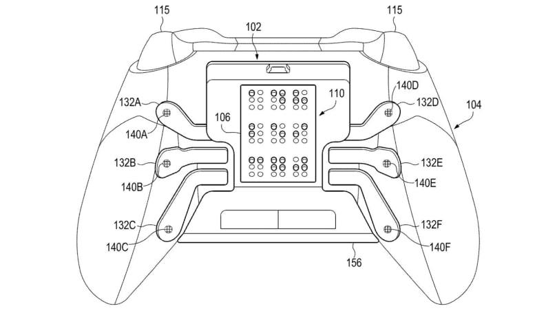 微軟在開發有凸字的 Xbox 控制器