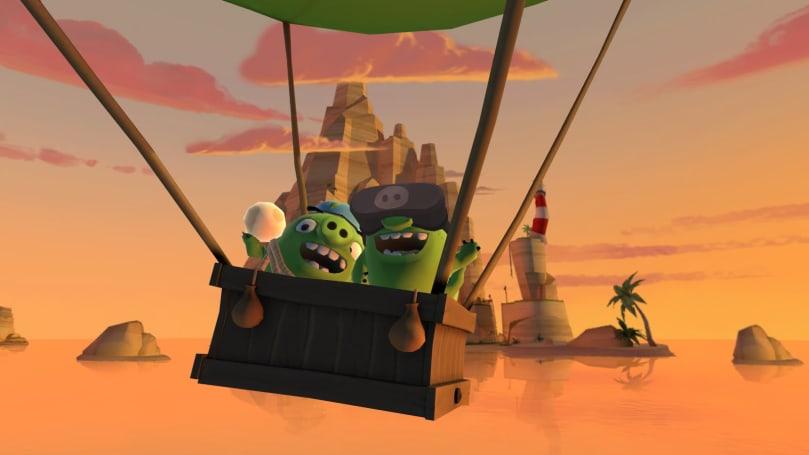 《Angry Birds VR: Isle of Pigs》於 PlayStation VR 上正式登場