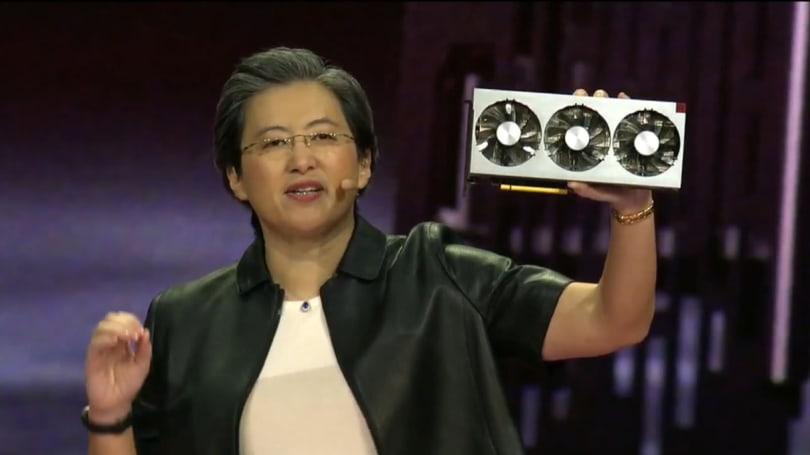 AMD 的 Radeon VII 是第一顆消費級的 7nm GPU