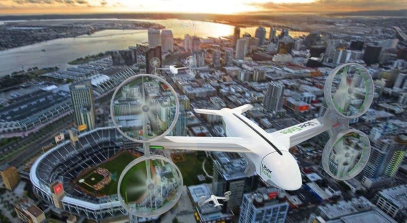 Uber Elevate 準備今夏開始試驗用無人機來送食物