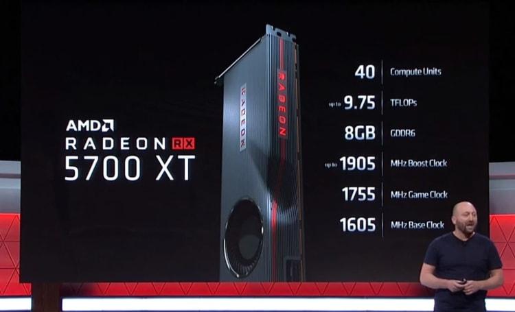 AMD 公開 Radeon RX 5700 XT 與 RX 5700 顯卡