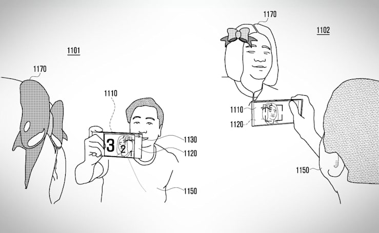 Samsung 想要把螢幕從手機正面伸延至背面