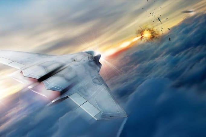 美国空军成功演示能击毁多个目标的激光系统