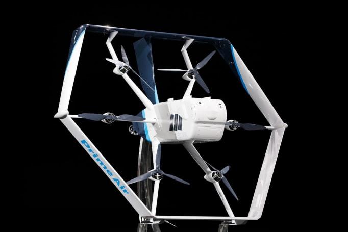 Amazon 的新一代送貨無人機同時具備直升機與飛機的特性