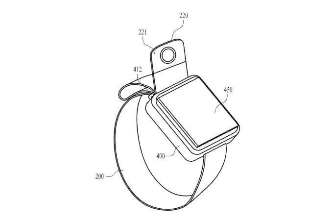Apple 申請了一個內建相機的錶帶設計專利