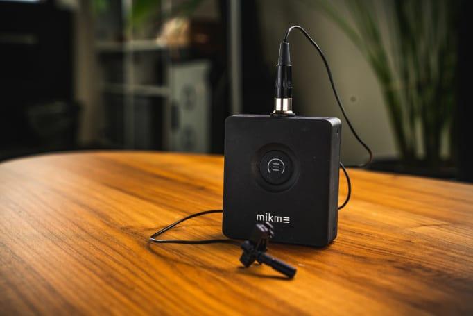 Mikme Pocket 是针对手机录影而来的专业级无线麦克风