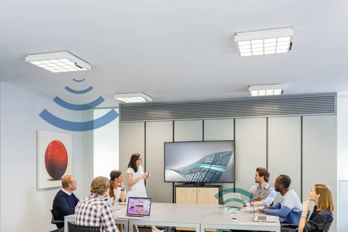Signify 新的 LiFi 系統用 LED 燈帶來 150Mbps 的無線連網速度