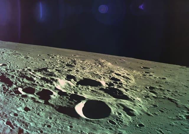 SpaceIL 公开 Beresheet 坠毁前的最后一张照片