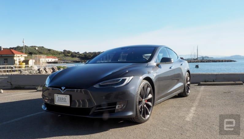 新版特斯拉 Model S 可能已经在路试了