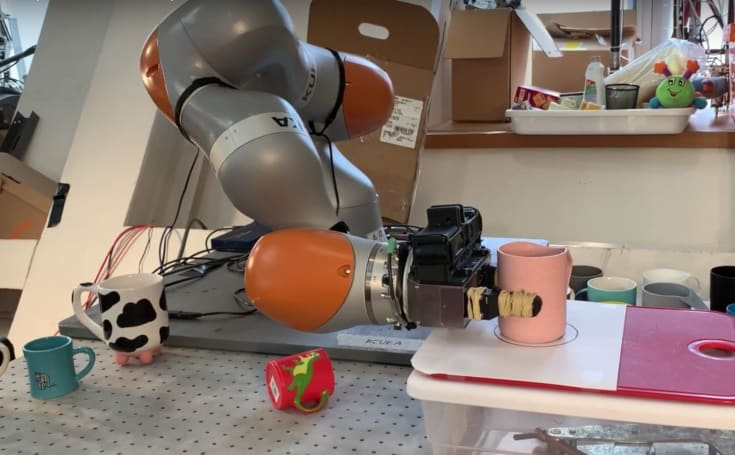 機器大腦能夠讓機器人理解並操作它們從未見過的物體了