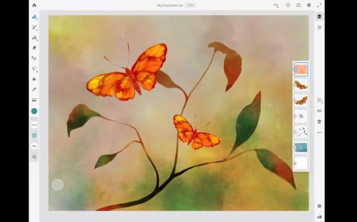 Adobe 的新 iPad 绘画 App 定名「Adobe Fresco」
