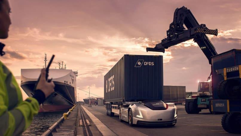 沃尔沃的自驾卡车「Vera」开始在瑞典哥德堡运货