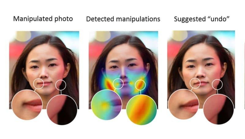 Adobe 訓練 AI 來偵測 Photoshop 對臉部的修改