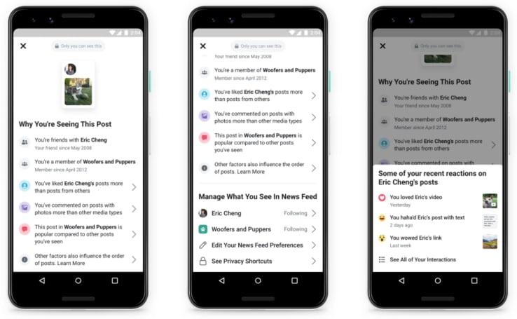 Facebook 将让用户拥有更多控管动态时报内容的能力