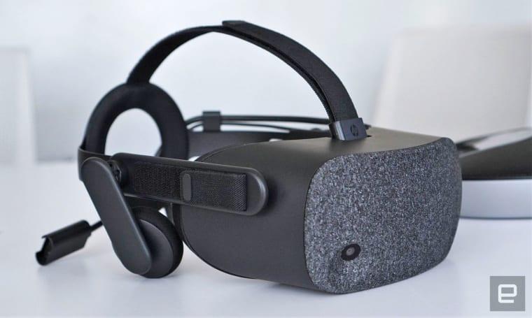惠普 Reverb 是迄今分辨率最高的 Windows VR 头戴装置