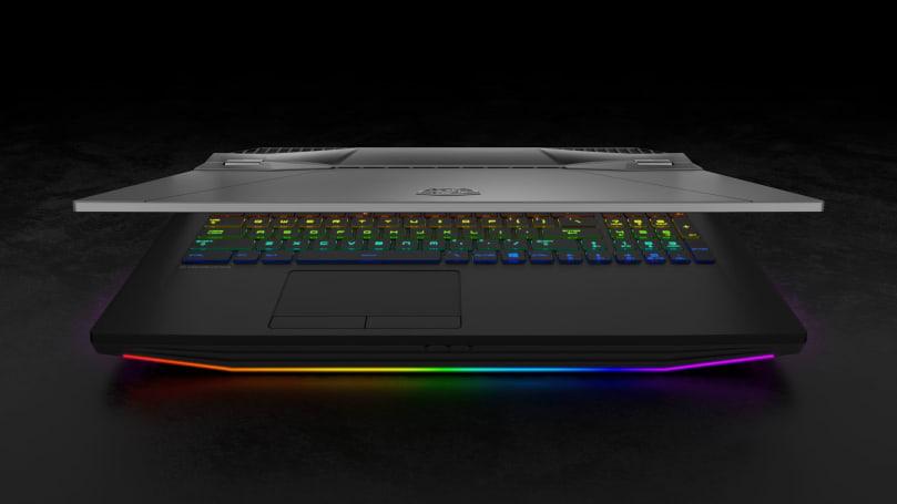 MSI 把不鎖頻的桌機級 Core i9 晶片塞到了自己的新筆電裡