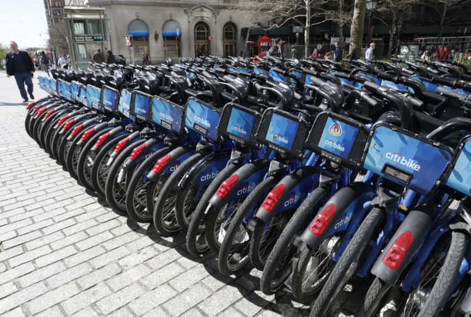 You can now rent a Citi Bike through the Lyft app in NYC