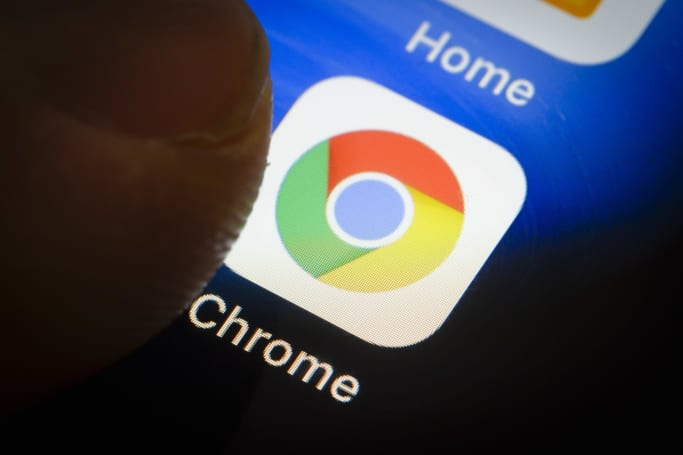 Chrome can display websites in dark mode, if you want it to