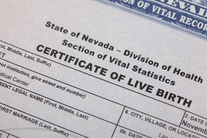 752,000 US birth certificate applications were exposed online