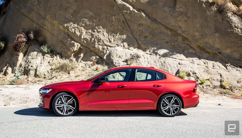 Volvo surprises with its stylish and quick S60 sedan