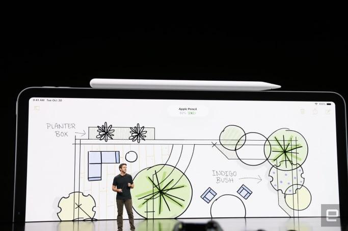第二代 Apple Pencil 可以吸在 iPad Pro 旁边无线充电了