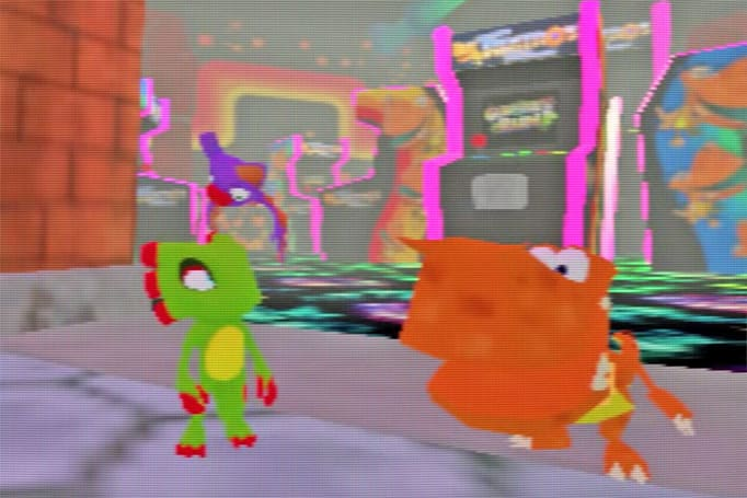 'Yooka-Laylee' in-game filter revives the Nintendo 64 era