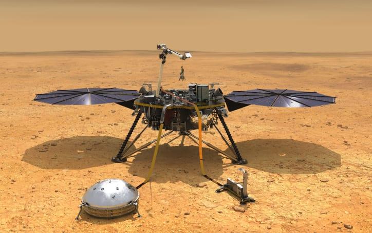 NASA's InSight lander has arrived on Mars