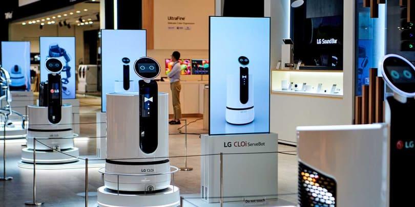 LG 的自动行驶购物车将会出现在韩国的 E-Mart 超市中