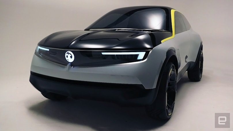 Vauxhall's GTX concept teases the future of mass-market EVs
