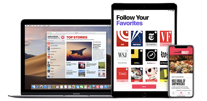 Apple News app will provide real-time results on Election Day