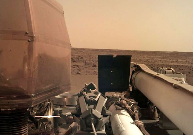NASA's InSight lander delivers its first clear photo from Mars