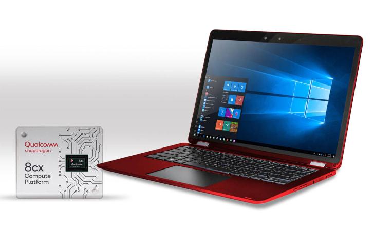 高通 Snapdragon 8cx 是 PC 業界首款 7nm 處理器