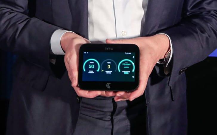 HTC 的 5G 行動分享器外貌首次曝光