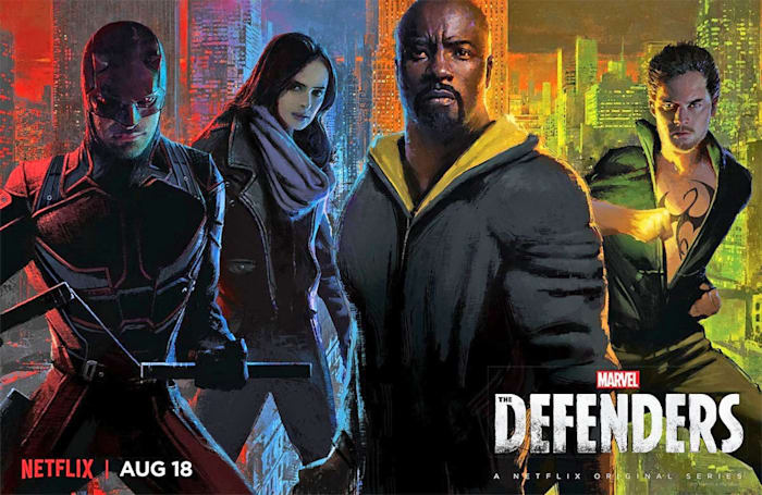 Marvel's Defenders probably won't return on TV until 2020