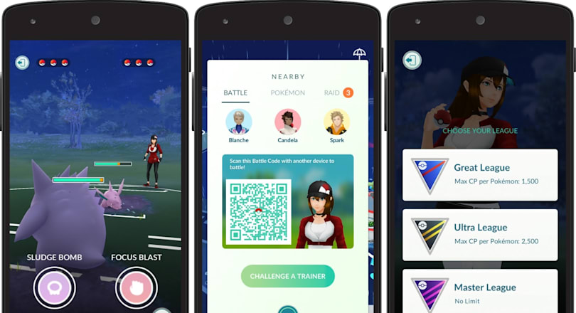 'Pokémon Go' players can finally fight against each other