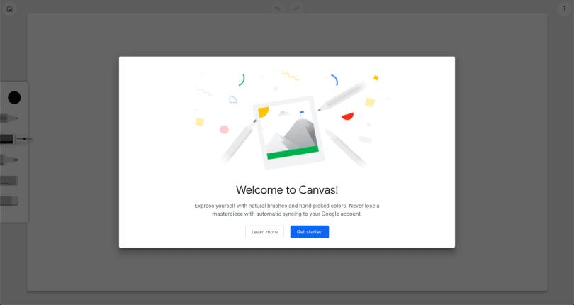 「Chrome Canvas」让你在浏览器中随意涂鸦