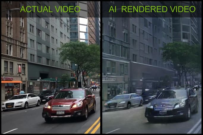 NVIDIA's new AI turns videos of the real world into virtual landscapes