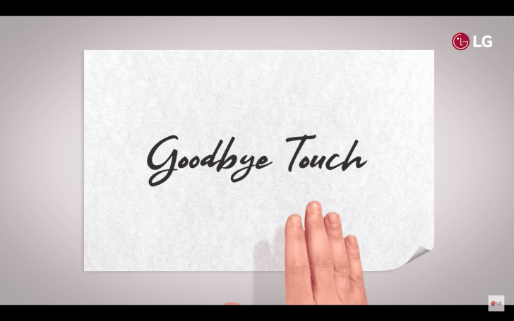 向触控说再见?LG 于 MWC 邀请函中附上了一支暗示手势操作功能的视频