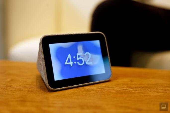 Lenovo 的 Smart Clock 是搭載 Google Assistant 的小鬧鐘