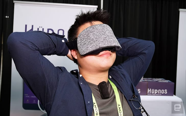 Hupnos sleep mask gets to work the minute you start snoring