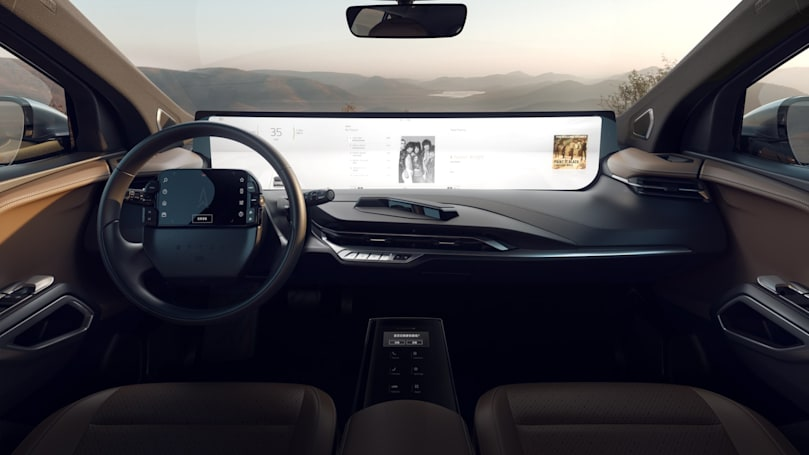 Byton adds an additional touchscreen to its upcoming SUV