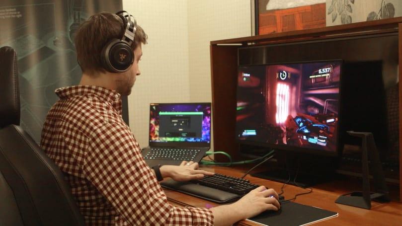 Razer 的「Hypersense」技術讓你所有的的遊戲週邊一起震動