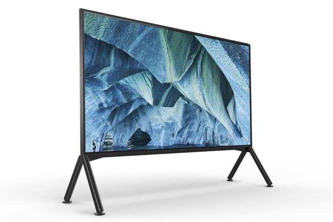索尼的「超大型」8K 电视与你相约今年!