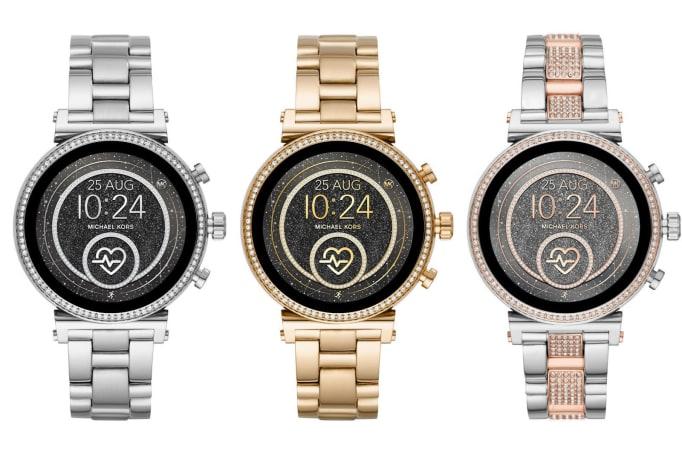 Michael Kors Sofie 2.0 在時尚錶型外也加入了更多功能